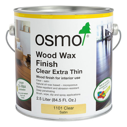 Osmo 1101 Clear Satin .125L