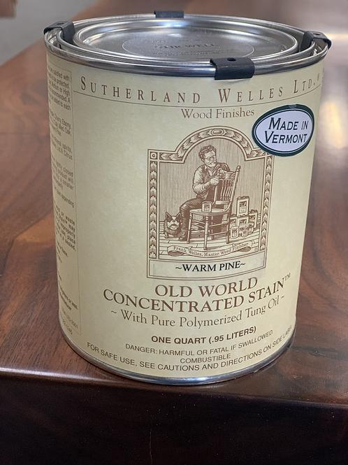 Old world stain - Warm Pine