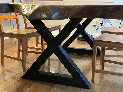 Closed X- Dinning Table Base