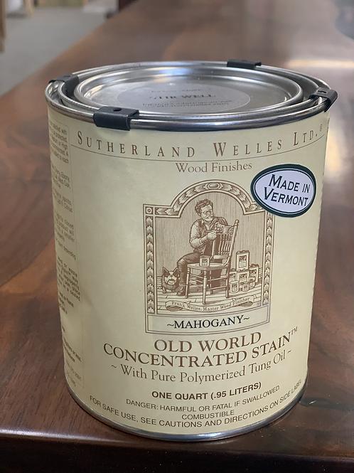 Old world wood stain- Mahogany