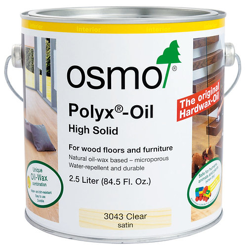 Osmo 3043 Clear Satin .125L