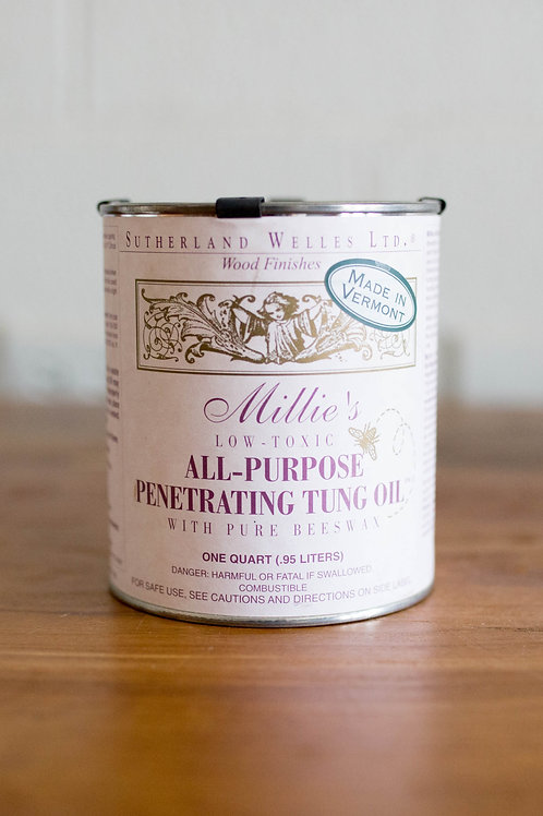 Millie's All Purpose Penetrating Tung Oil