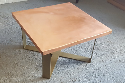 Brushed Copper Table Top
