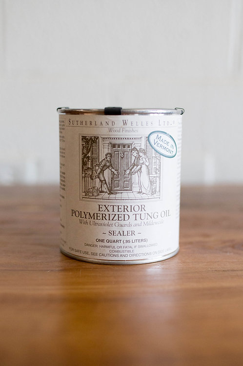 Exterior Polymerized Tung Oil Sealer