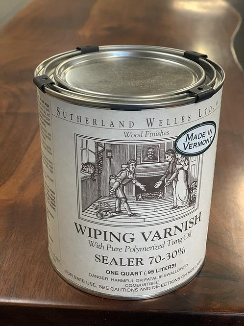 Wiping varnish sealer