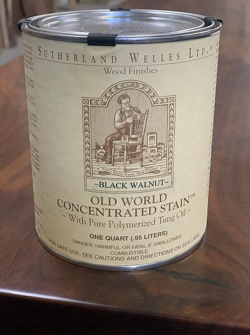 Old world wood stain - Black Walnut