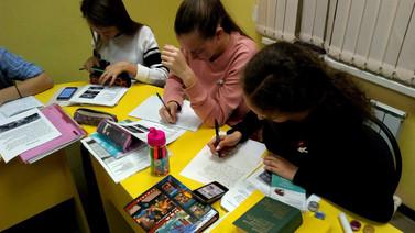 Письма с учениками других стран