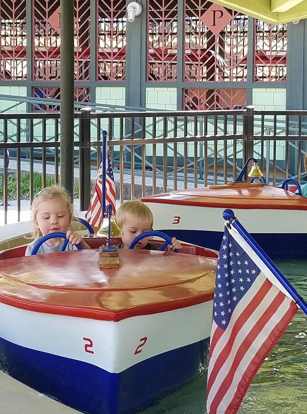 Pullen Park Kiddie Boats