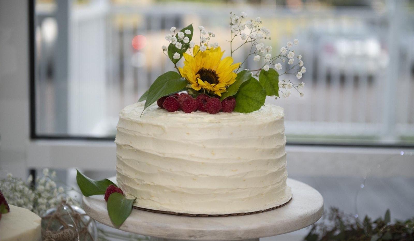 Lemon Rasberry Cake