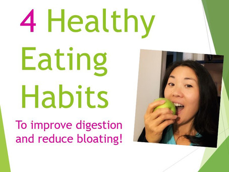 4 Simple Eating Habits That Can Change Your Life!