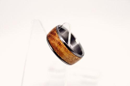 Titanium in Sapele wood