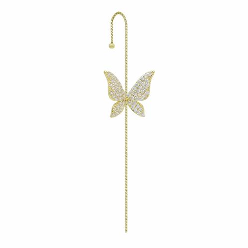 Butterfly Ear Wrap Pin