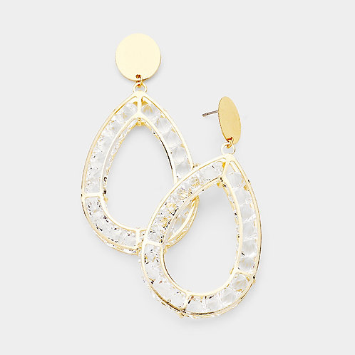Poised Teardrop Earrings
