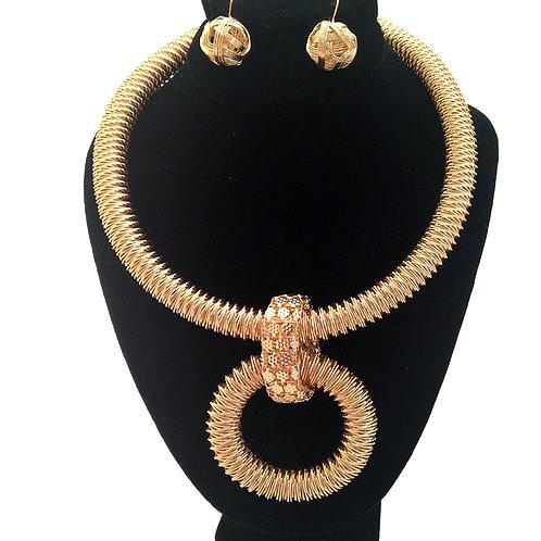 Golden Rule Necklace Set