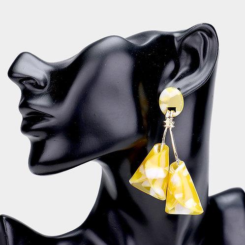 Calla Lily Dangle Earrings