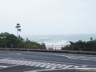 台風きてます。