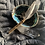 Thumbnail: Feather smudging stick wand hand made by me