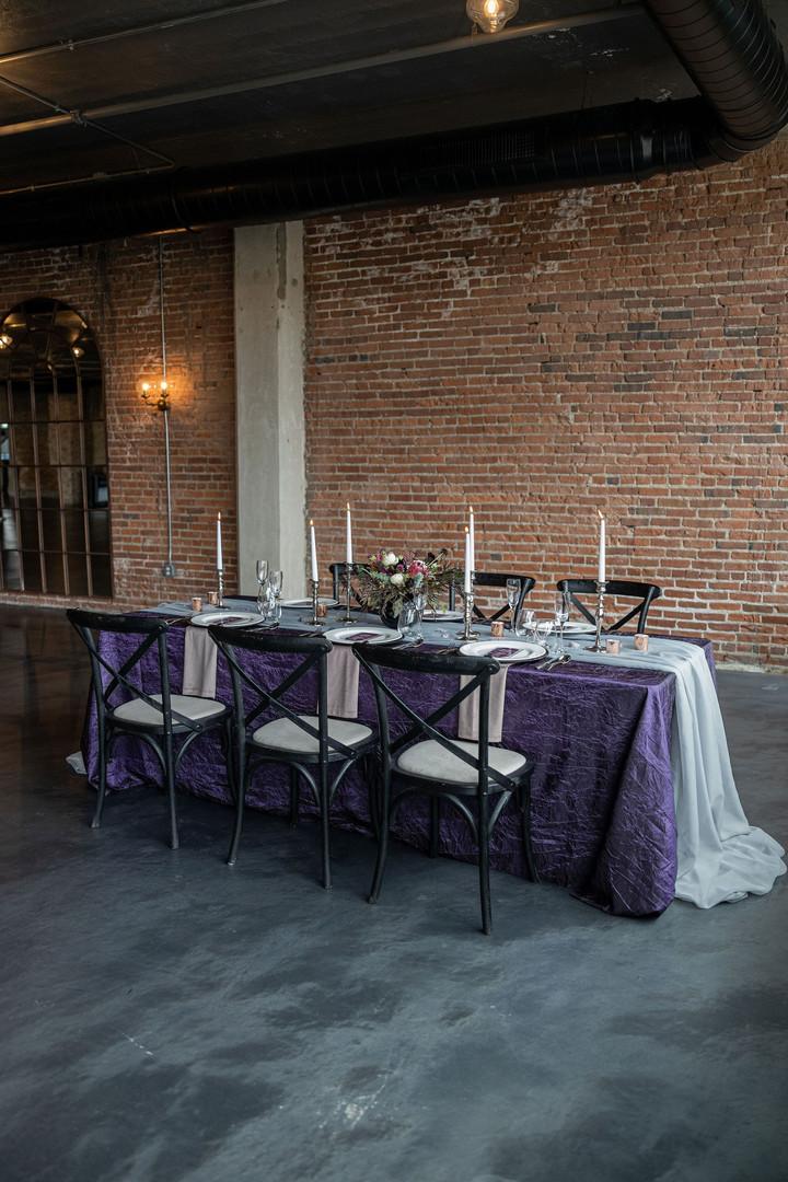 Industrial Rockford wedding reception
