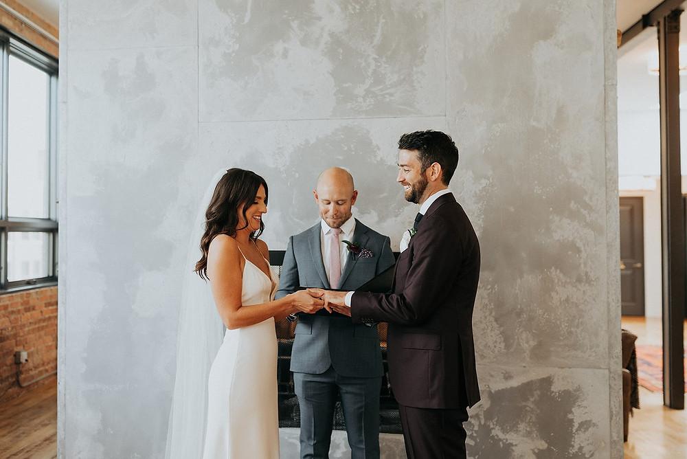 The Publishing House wedding