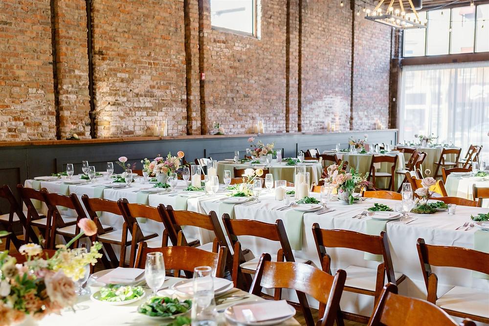 Industrial Wisconsin wedding venue