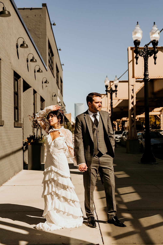 Chicago wedding portraits