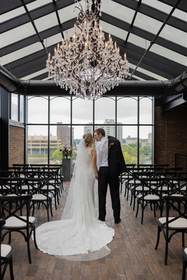 Rockford indoor wedding ceremony