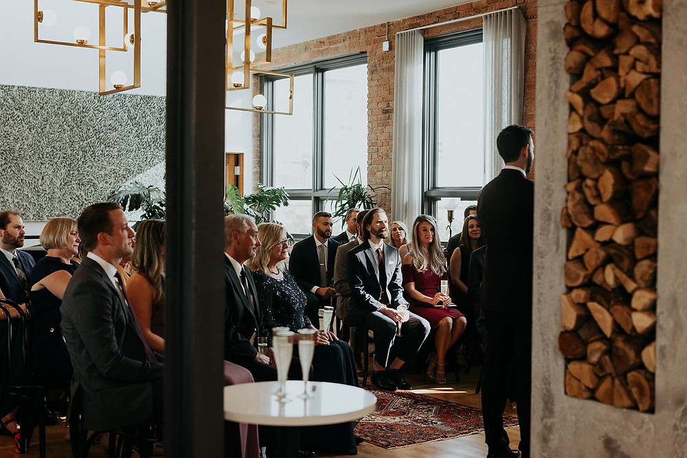 Intimate wedding in Chicago