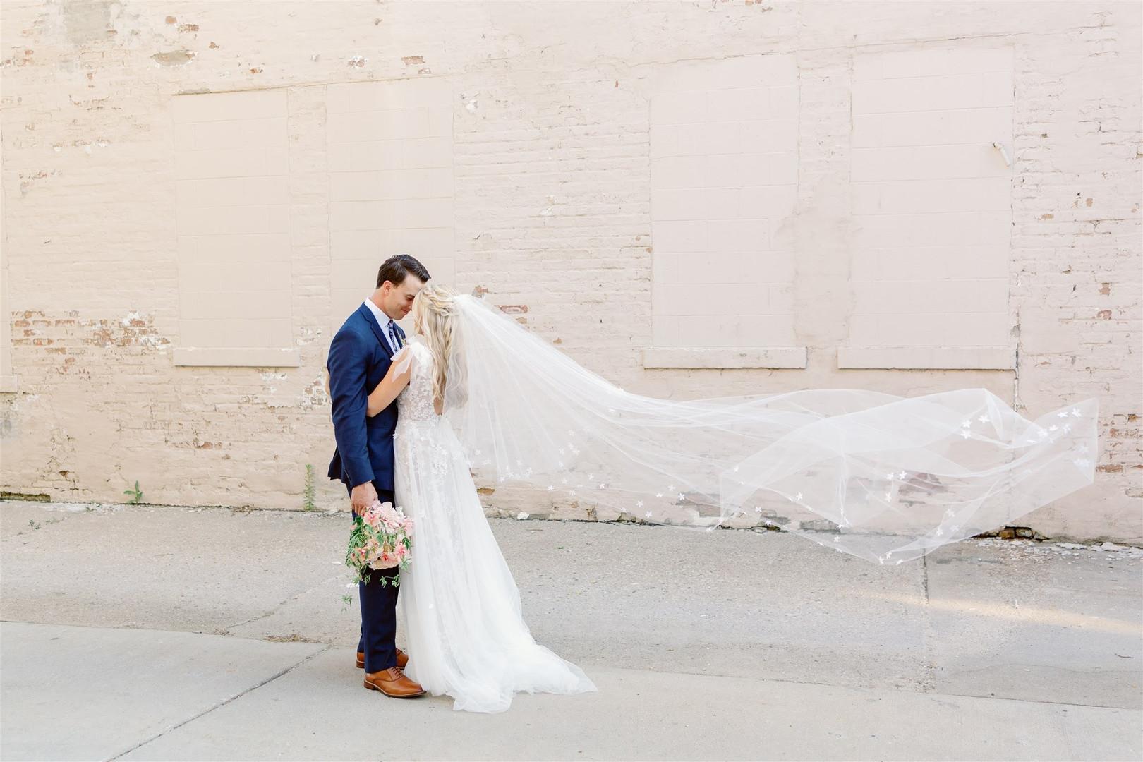 Wisconsin bride and groom