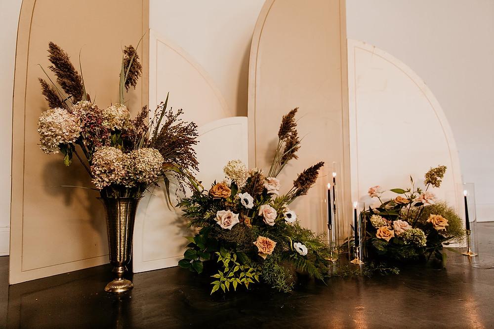 Fall wedding floral arrangments