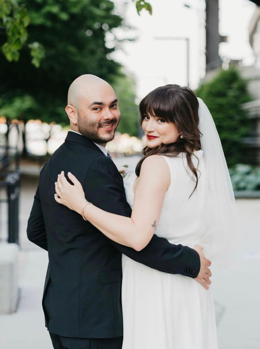 Chicago wedding day