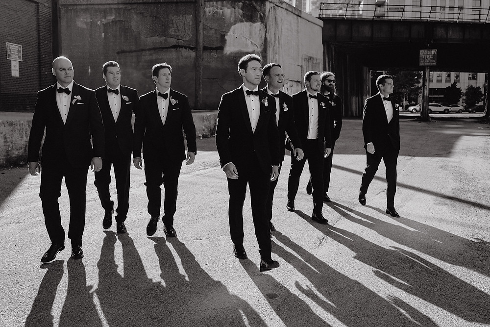 Tuxedos from The Black Tux Chicago