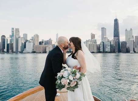 Amanda + Felipe: Chicago Intimate Wedding