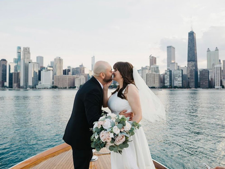 Amanda + Felipe: Chicago Intimate Wedding