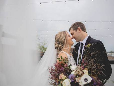 An Amethyst Affair: Rockford, Illinois Styled Shoot