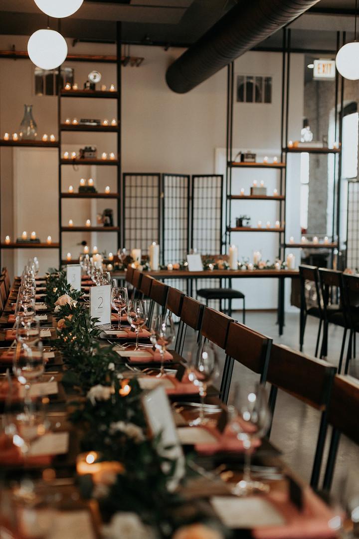 Chicago industrial wedding venue