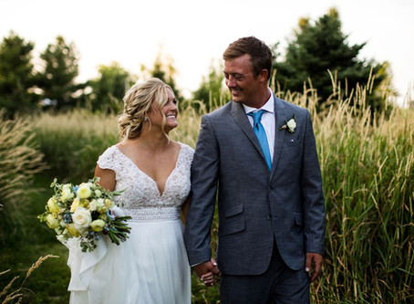 Megan + Cameron: Illinois Intimate Ceremony