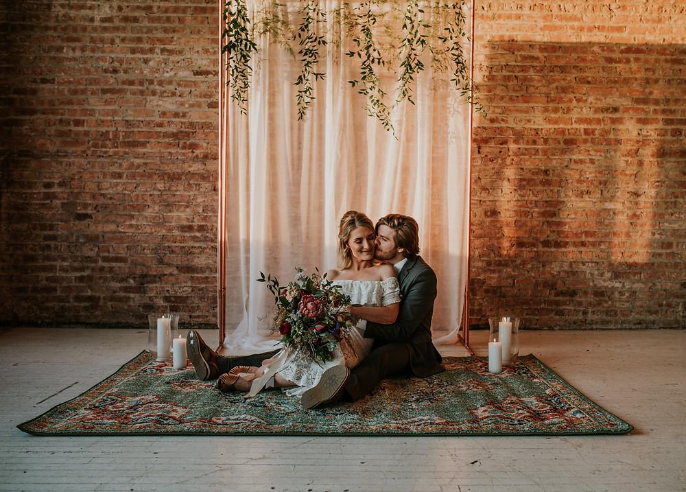 Chicago indoor wedding ceremony