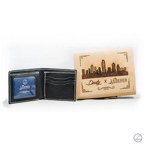 SHORT WALLET 3 CARDS - DUSTY X LEDERER DIY PACK