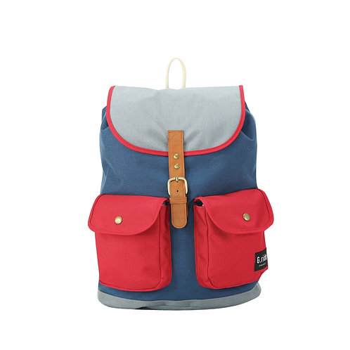 G.RIDE CHLOE NAVY/RED/GREY