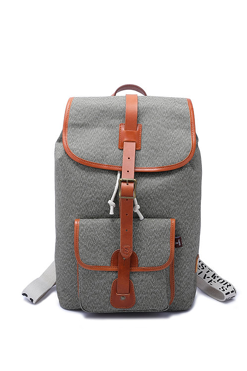 Tough canvas backpack