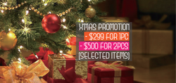 2016 X'Mas Promotion