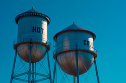 Hot and Cold Water Towers