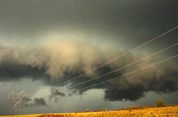 Dark Cloud Across Flint Hills