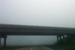 Underpass into Fog