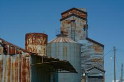 Rusty Grain Elevators