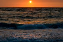 Evening Sun over the Gulf