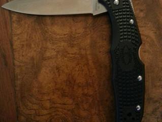 New knife...