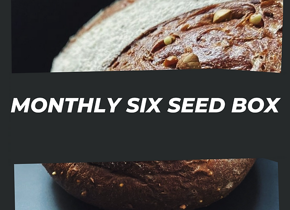 Monthly Six Seed Subscription