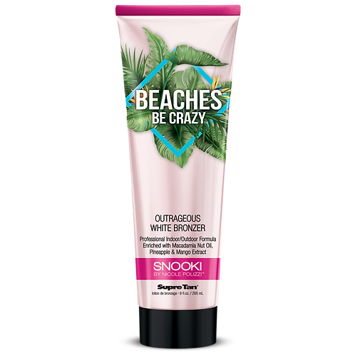 Snooki Beaches be Crazy Outrageous White Bronzer 9oz