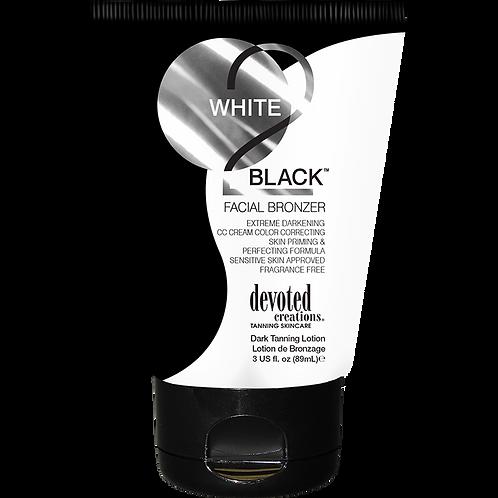 White 2 Black: Facial Bronzer 3oz